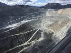 Field trip to open pit mine in Peru.