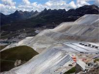 Field trip to Antamina Mine, Peruvian Andes.